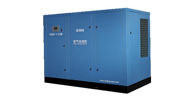 无油螺杆空压机变频节能的改造原理与应用