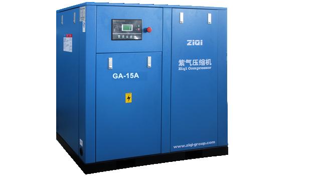 紫气两级压缩螺杆空压机的3大优势与节能原理