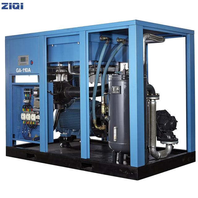 螺杆空压机排出的压缩空气中为什么会有水呢?