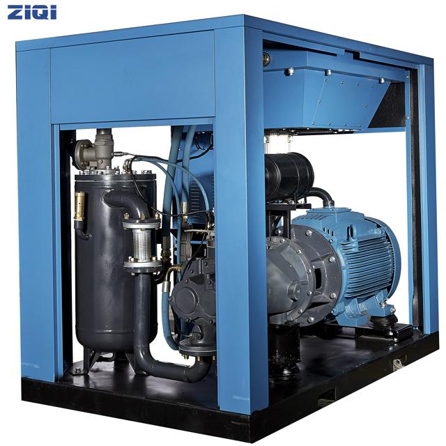 为什么空气压缩机启动电流大,启动后又变小?