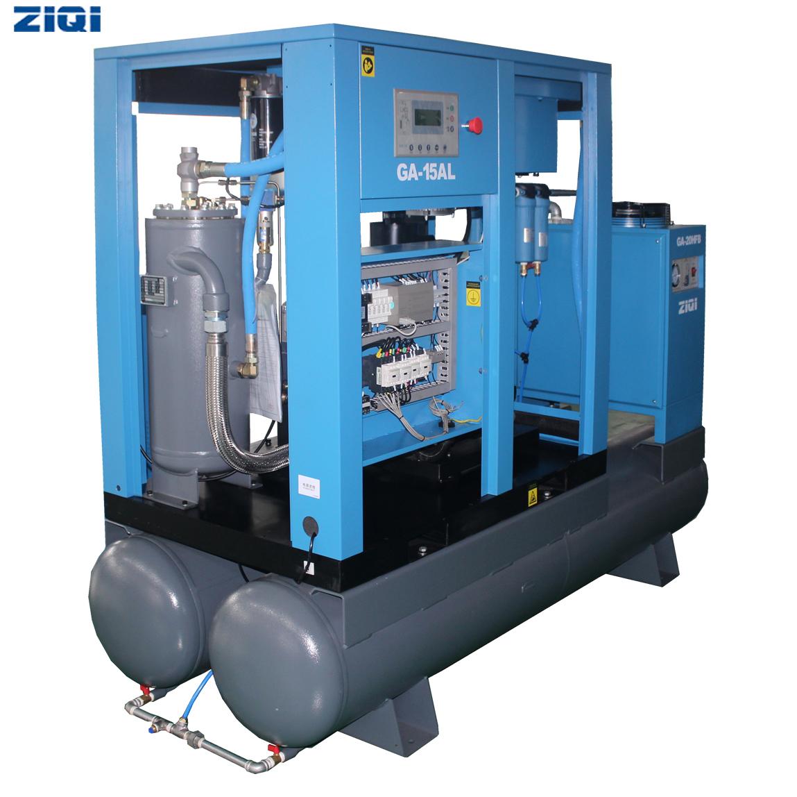 无油空压机热能回收分析