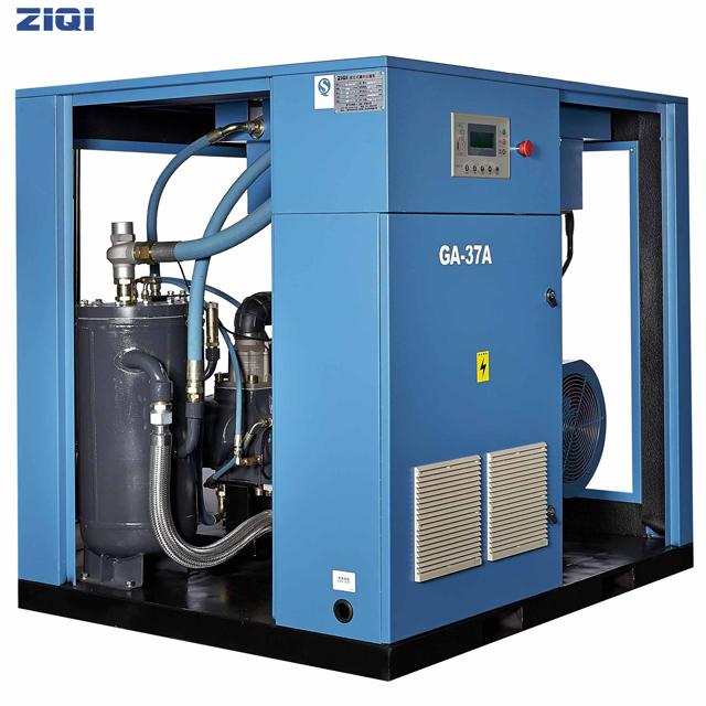 空气压缩机排出的气体含油怎么解决?