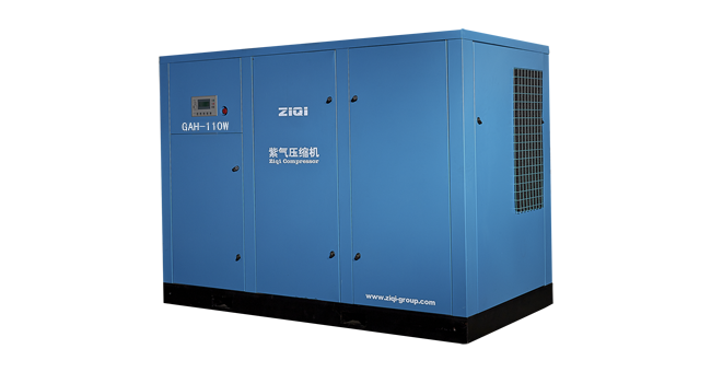 Analysis of rotor clearance of screw air compressor