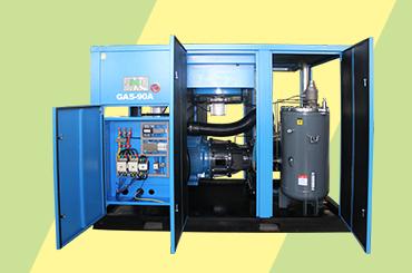 螺桿空壓機工作原理及各個系統工作原理分析