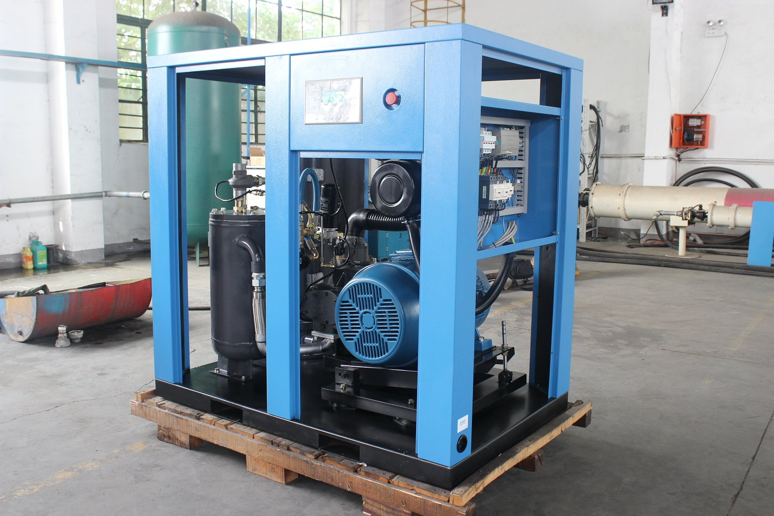 Discussion on energy saving design of compressed air station for industrial plant