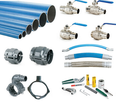 Full performance compressed air piping system