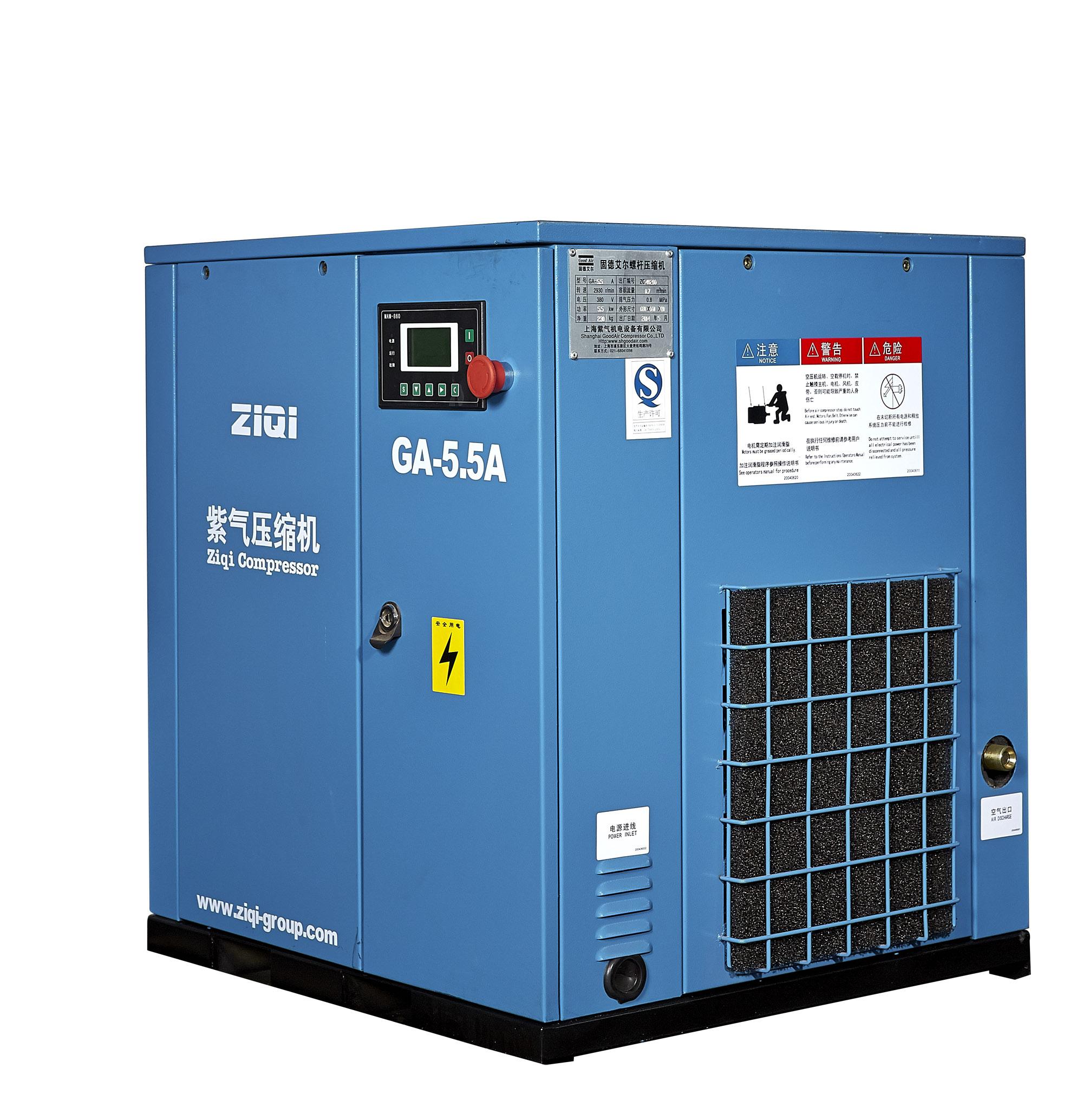 空压机型号参数 空压机型号的含义 需要多大的空压机计算