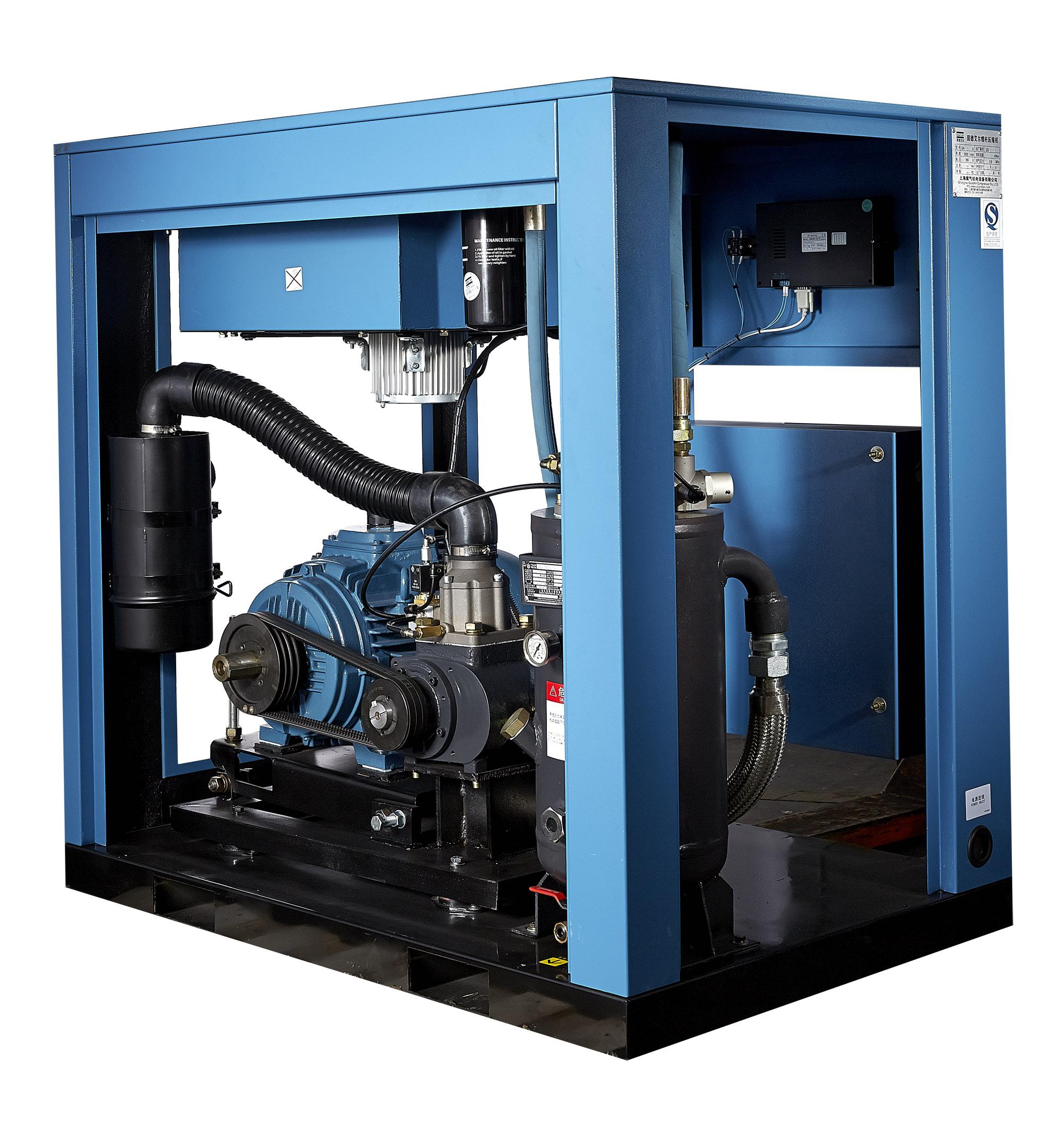 空壓機加卸載供氣控制方式存在的問題分析